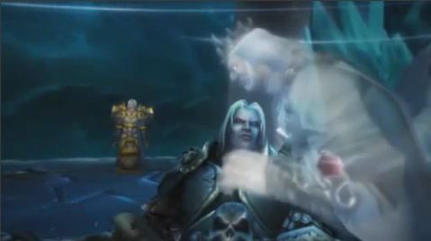 Wrath of the Lich King Death Ending